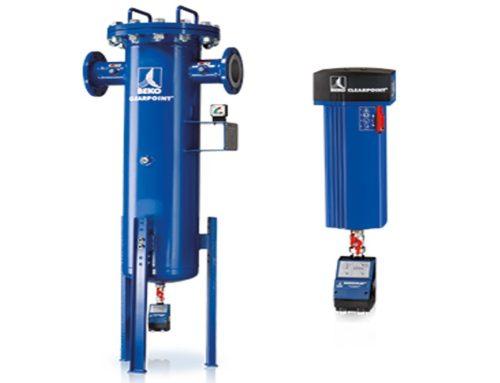 ¿Cuál es el orden de instalación de los filtros de aire comprimido?