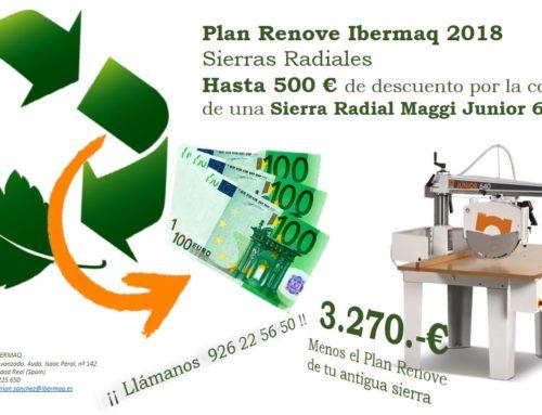 Plan Renove Ibermaq 2018